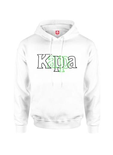 Kappa Kapüşonlu Sw-Shirt Balor  Beyaz